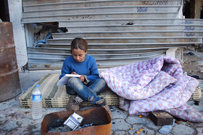 Fatima - crianças de Aleppo falam sobre os horrores da guerra para uma correspondente da Sputnik
