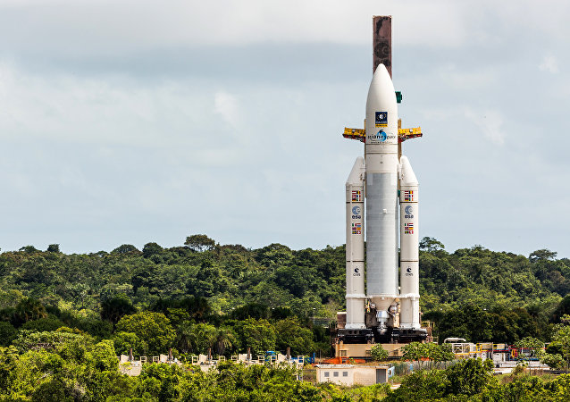 Ariane lança satélite