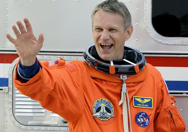 Astronauta norte-americano Piers Sellers (Foto de arquivo)