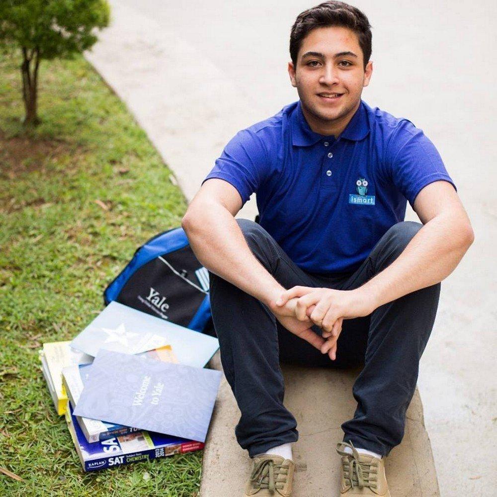 O jovem acredita que em Yale vai  se dedicar às ciências