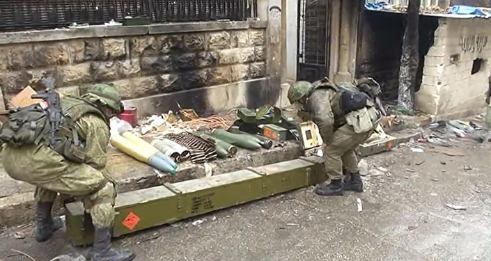 Armas ocidentais em Aleppo