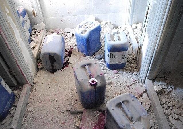 Fábrica de armas químicas em Aleppo