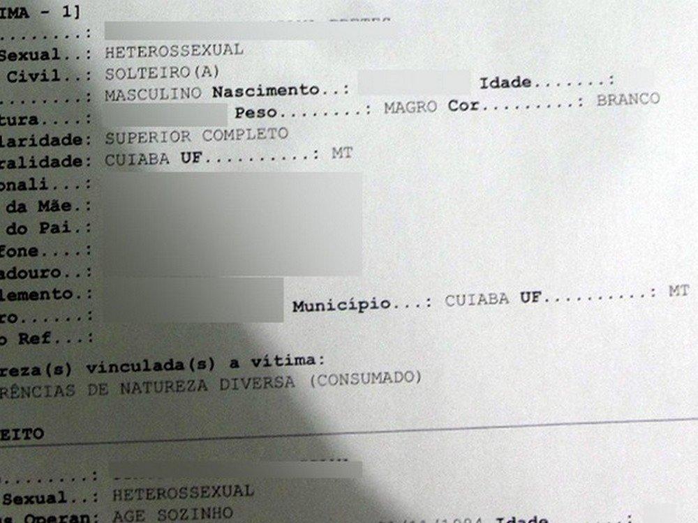 Campo para identidade de gênero heterossexual, bissexual ou homossexual passa a constar em B.O no Mato Grosso