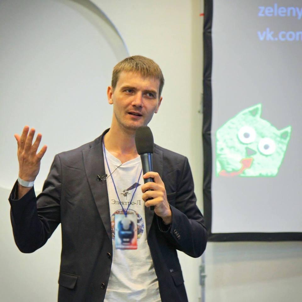 Entusiasta russo Vitaly Egorov