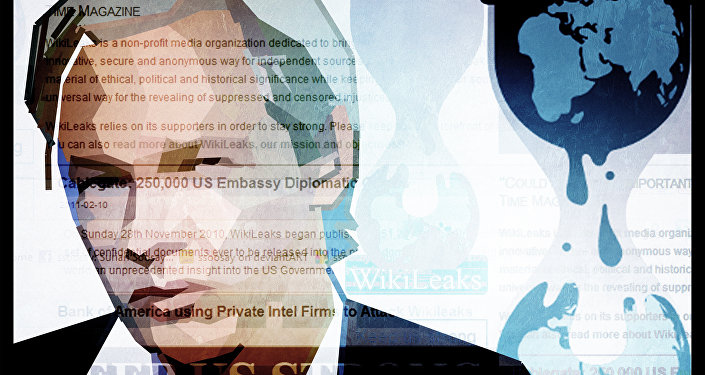 Julian Assange, chefe do site de vazamentos WikiLeaks