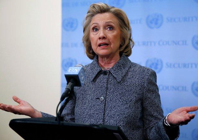 Hillary Clinton, ex-secretária de Estado dos EUA e pré-candidata à presidência do país