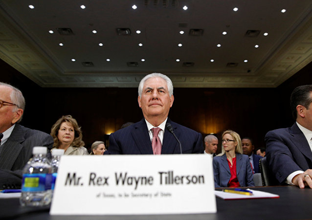 Rex Tillerson no Senado