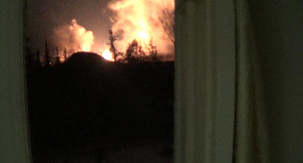 Mísseis israelenses atacam aeroporto militar perto de Damasco (imagem de arquivo)