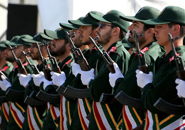 Agentes do Corpo de Guardiões da Revoluçao Islâmica