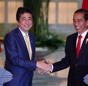 Japão e Indonésia