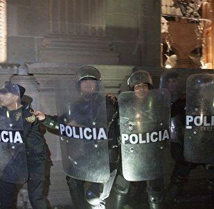 Polícia mexicana em janeiro de 2017 (foto de arquivo)
