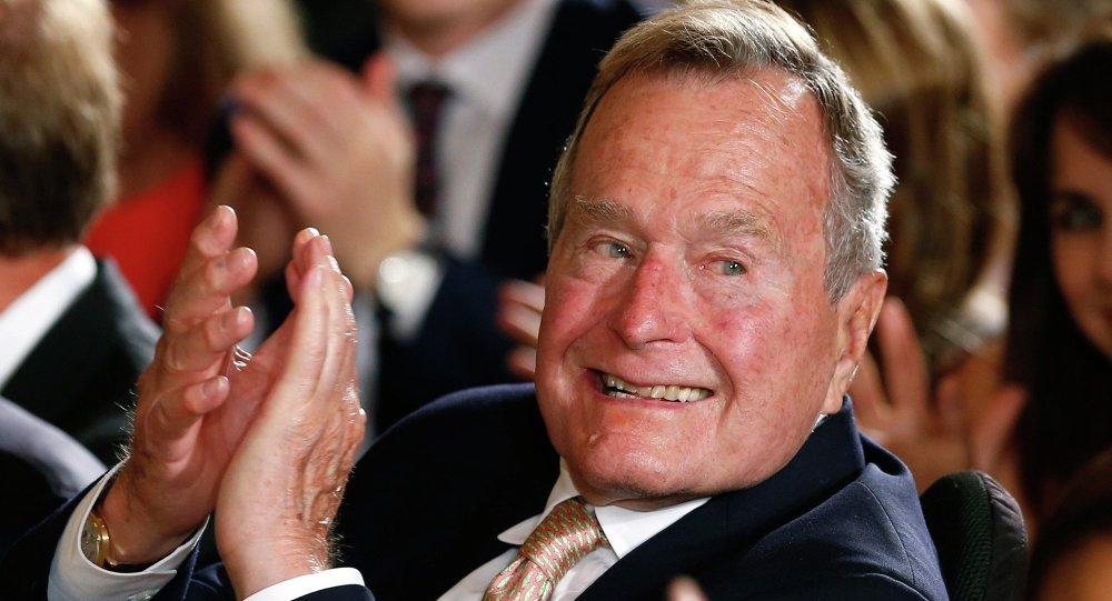 Ex-presidente norte-americano George H. W. Bush