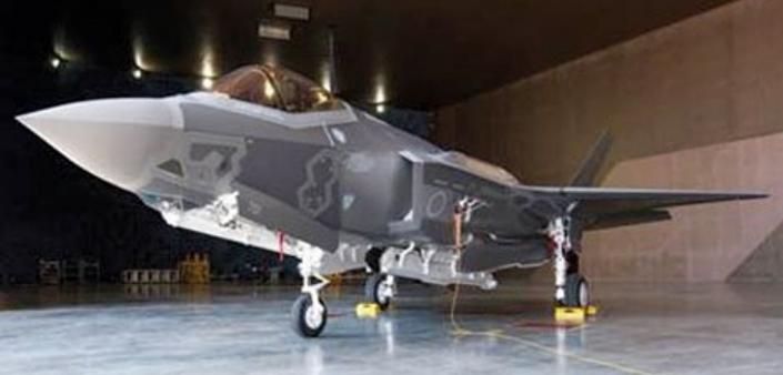 Primeiro caça japonês F-35
