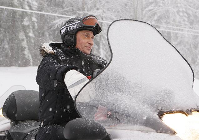 Presidente da Rússia Vladimir Putin em Sochi