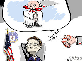 Zakharova se refere à entrega de Snowden como 'ideologia da traição'