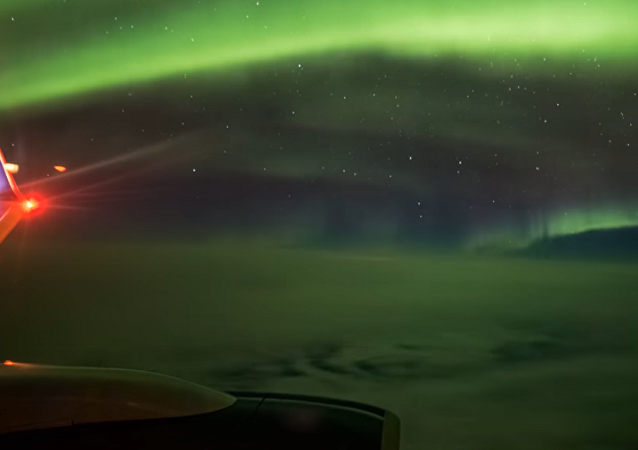 A beleza da aurora boreal