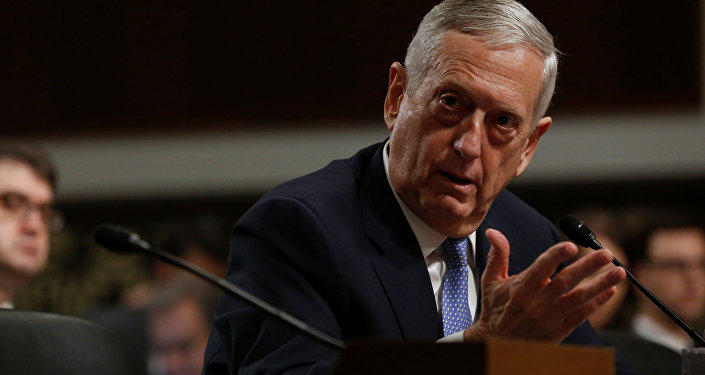 Secretário de Defesa dos EUA, general James Mattis