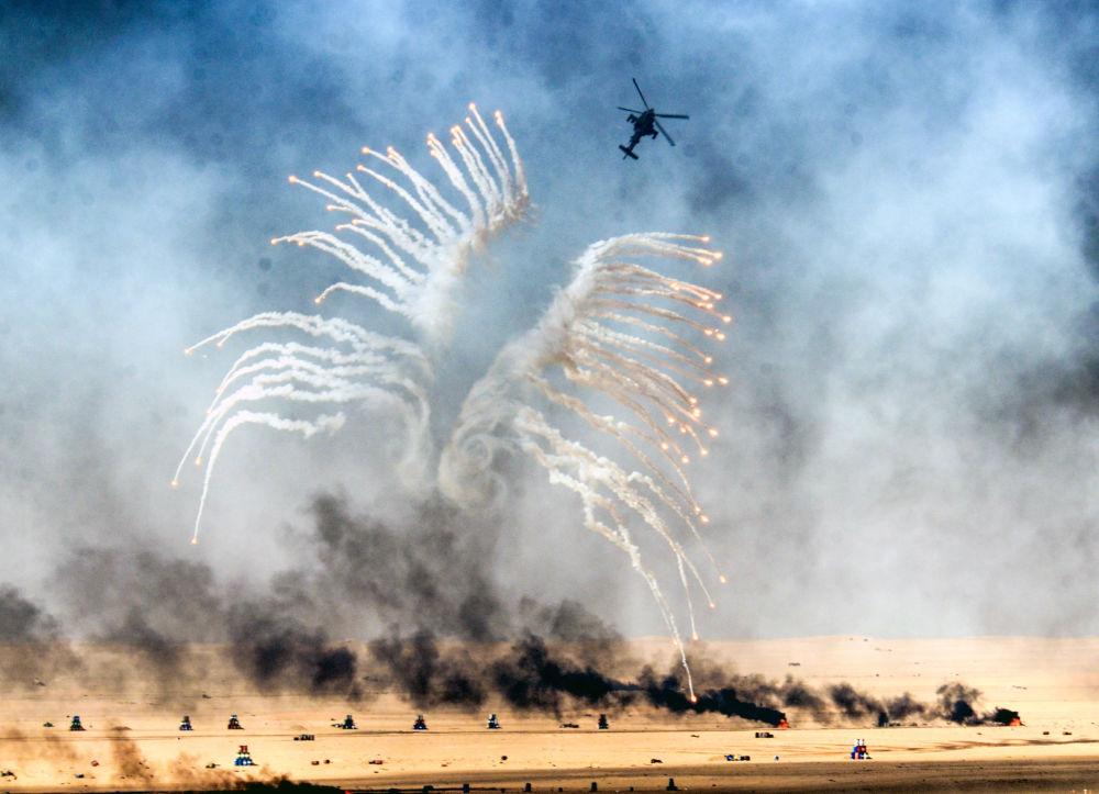 Treinamentos militares no Kuwait