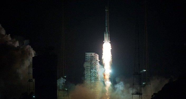 Lançamento do satélite geoestacionário Gaofen-4 na China