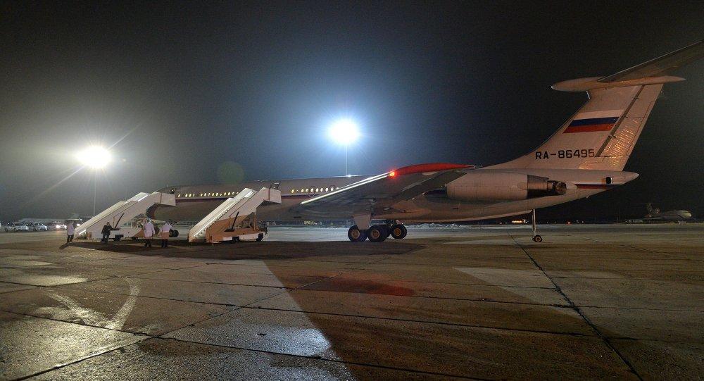 Avião russo evacua pessoas no aeroporto Chkalovsky, no Iêmen