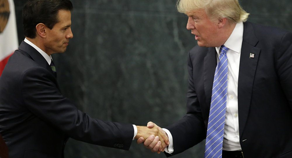 Trump e Peña Nieto