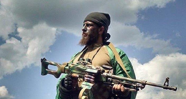 Brasileiro Rafael Marques Lusvarghi nas milícias de Donbass