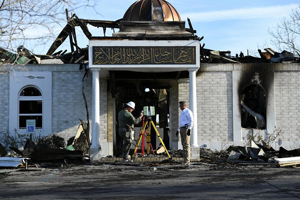 Incêndio em mesquita no Centro Islâmico Victoria