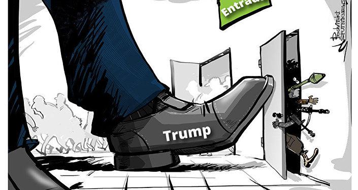 Trump assina decreto Protegendo a Nação contra a Entrada de Terroristas Estrangeiros nos Estados Unidos