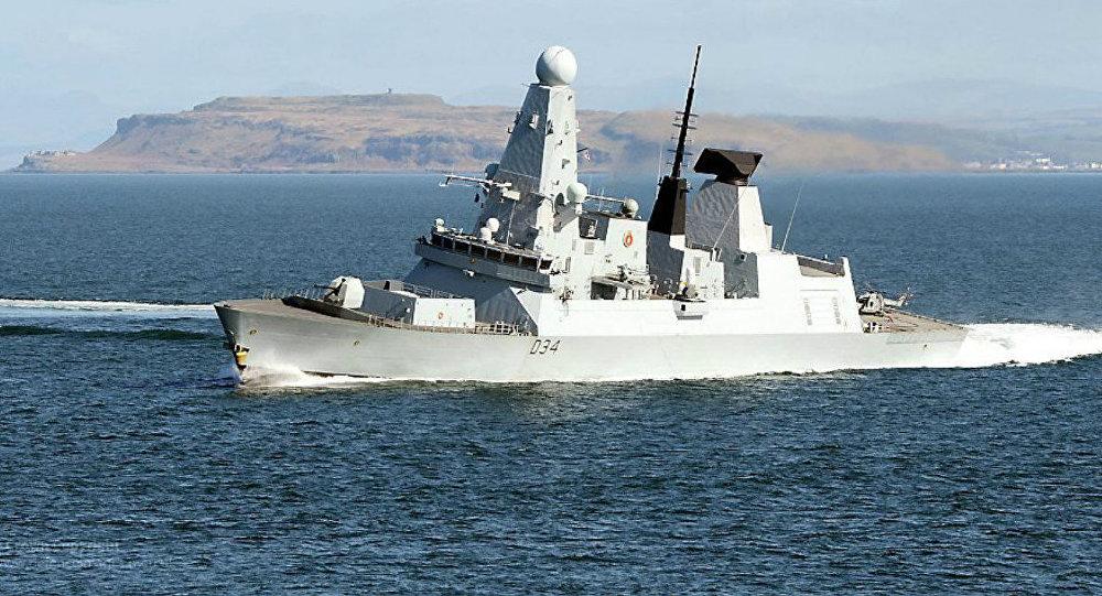 Destroier da Marinha Real Britânica HMS Diamond