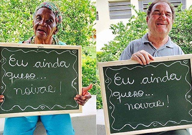 Idosos ficam noivos em asilo de São Paulo