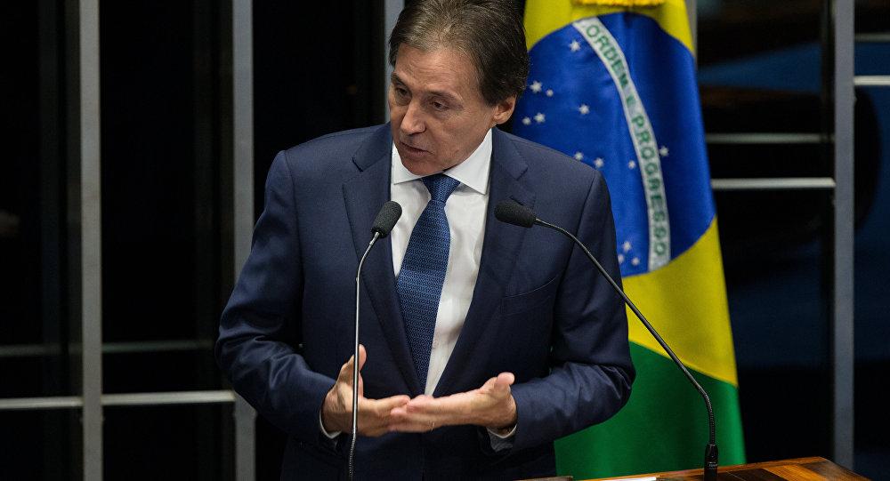 Presidente do Senado Eunício Oliveira (PMDB-CE)