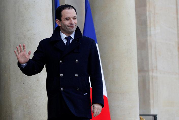 Benoît Hamon, candidato socialista à presidência francesa em 2017