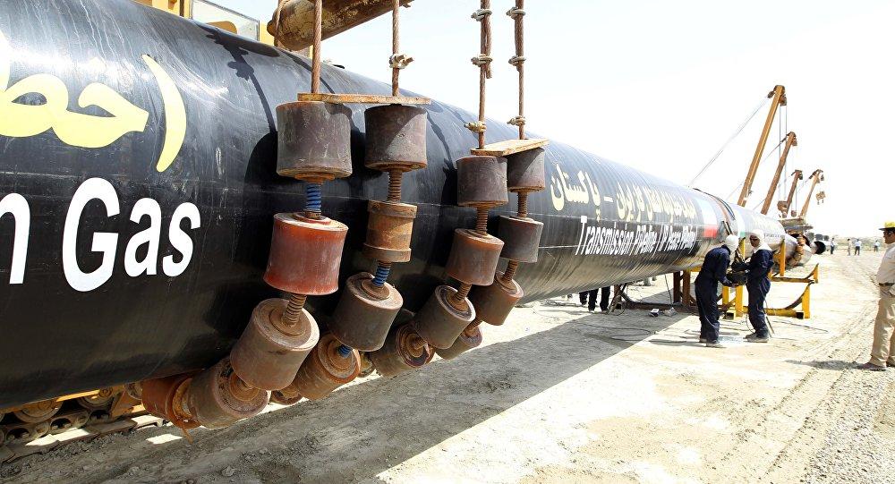 Inauguração de um trecho de gasoduto entre o Irã e o Paquistão