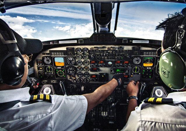 Bordcomputer eines Flugzeuges