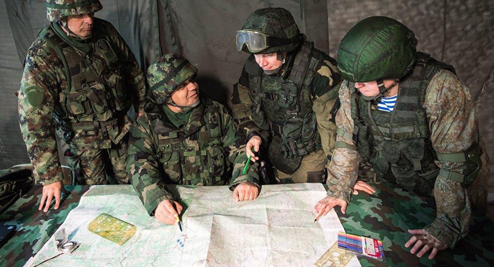 Exercícios militares da Rússia, Bielorrússia e Sérvia, Irmandade Eslávica 2016