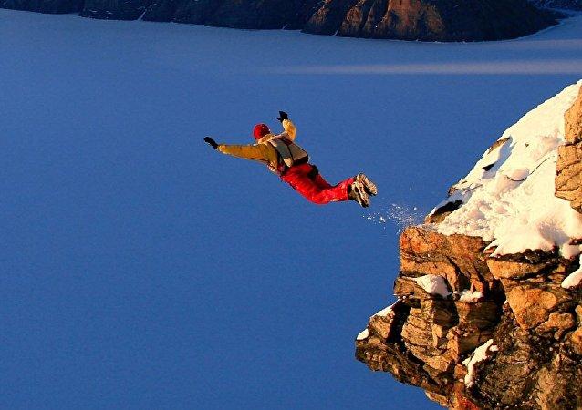 Salta duma rocha