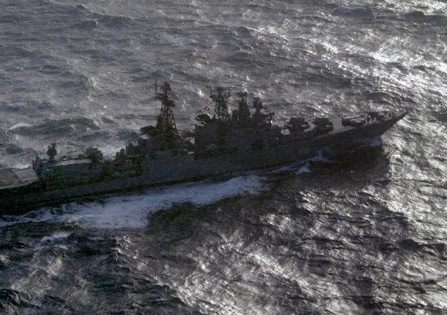 Grande navio antissubmarino russo Severomorsk