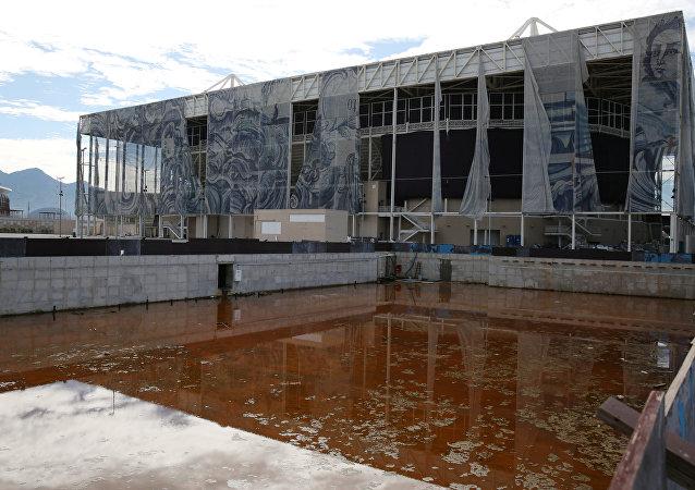 Estádio Aquático Olímpico: situação pós-jogos
