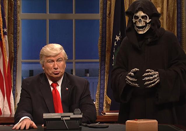 Alec Baldwin parodia Donald Trump. 5, fevereiro, 2017