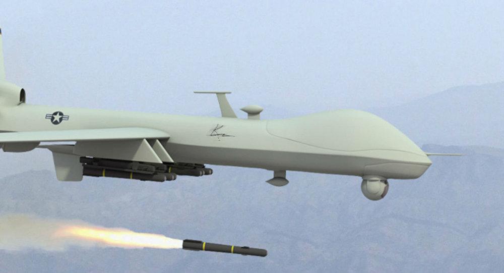 Drone norte-americano Predator.