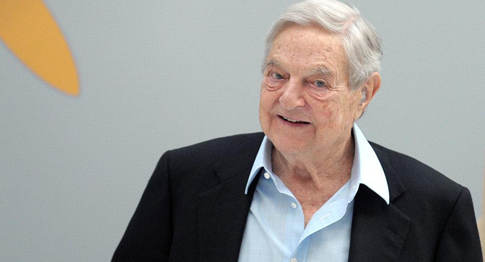 George Soros, o presidente americano de origem húngara da Soros Fund Management
