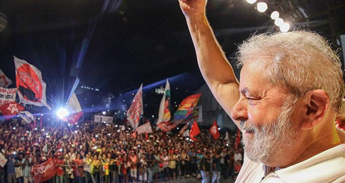 Lula em ato com artistas e intelectuais no Rio de Janeiro, Abril 2016