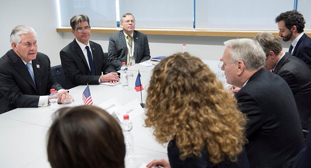 Equipes francesa e americana em reunião do G20