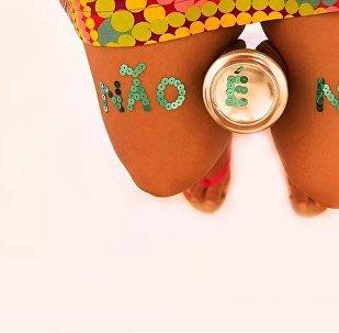 O corpo feminino é da mulher, não é do homem, ressalta a fotógrafa