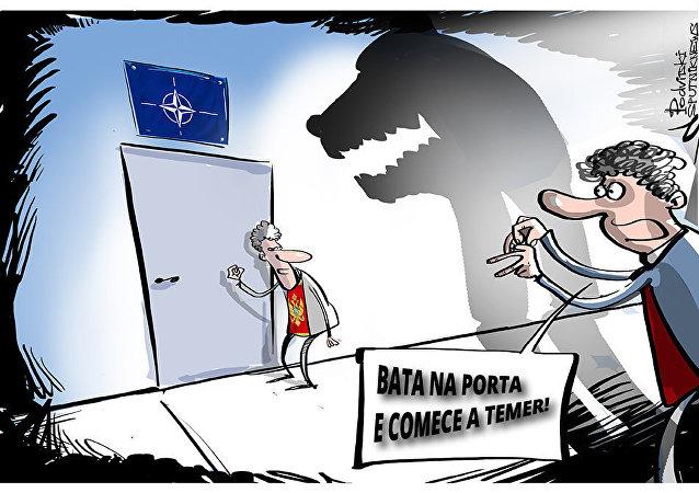 Montenegro usa alegada ameaça russa como pretexto para reforçar sua adesão à OTAN