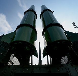 An Iskander-M missile system during the opening of the international military-technical forum ARMY-2016 in Vladivostok