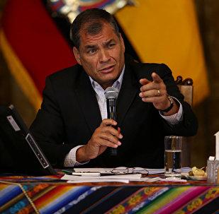 Presidente do Equador, Rafael Correa