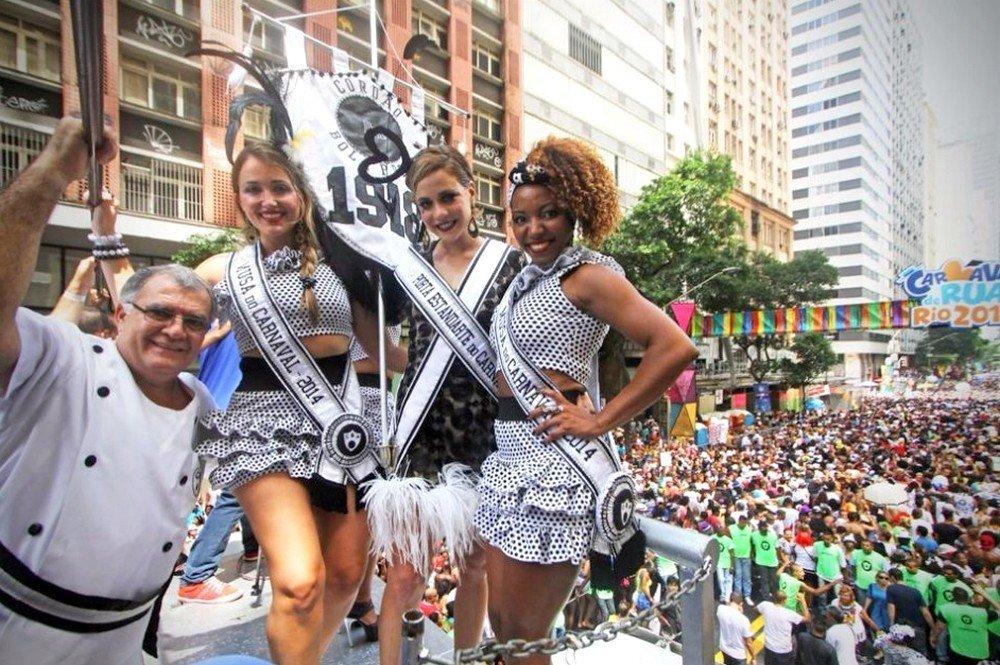 Este ano o Cordão da Bola Preta desfila sábado (25), às 8h, no Centro