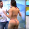 Modelo se enfurece na TV por compostura machista de apresentador
