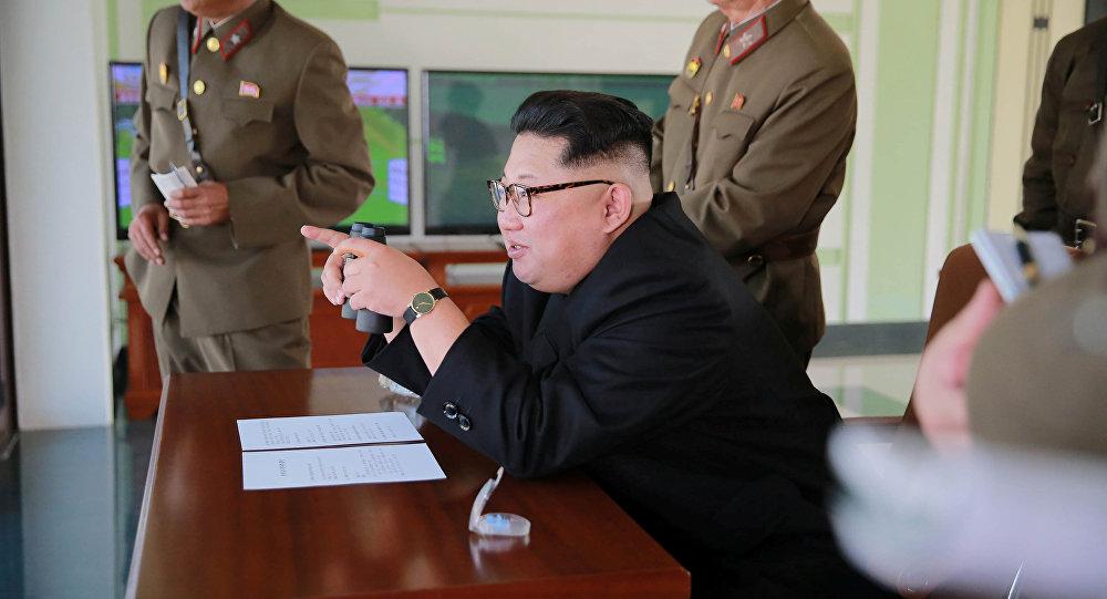 Kim Jong-un, o líder da Corea del Norte